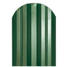 Штакетник  М-образный 124мм Полиэстер цвет зеленый 6005