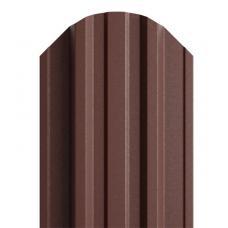 Штакетник  П-образный 116мм DEEP MAT цвет коричневый 8017