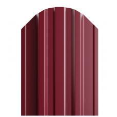 Штакетник П-образный 116мм Полиэстер (одна сторона) цвет вишня 3005