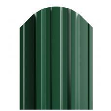 Штакетник П-образный 116мм Полиэстер (одна сторона) цвет зеленый 6005