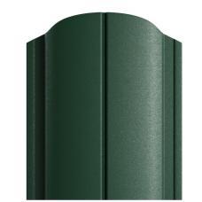 Штакетник DEEP MAT Полукруглый 122мм зеленый 6005